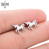 Pair of Unicorn Stud Earrings