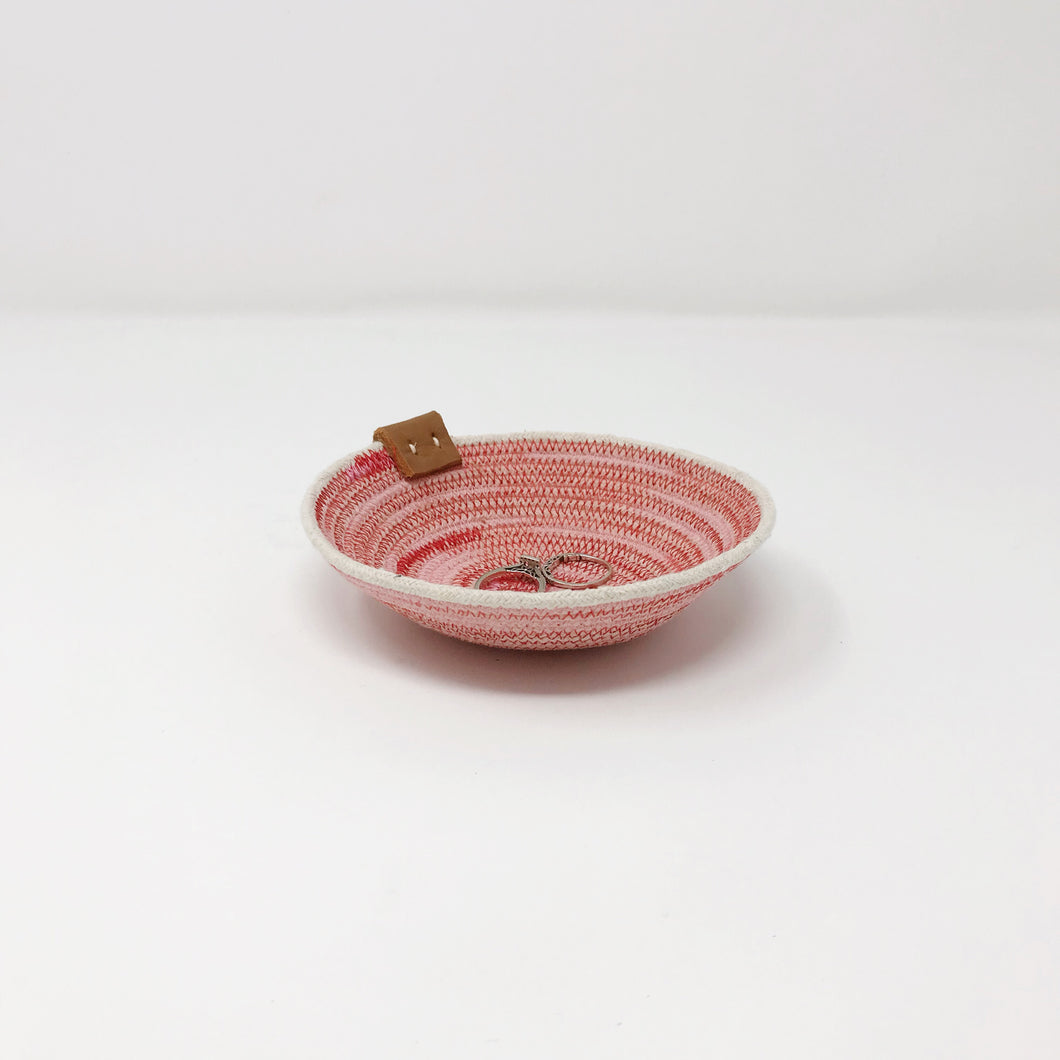 Pink and Red Ring dish