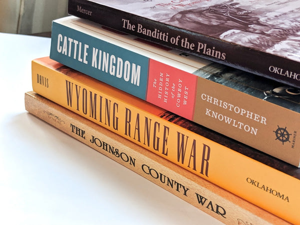 Johnson County Cattle War books