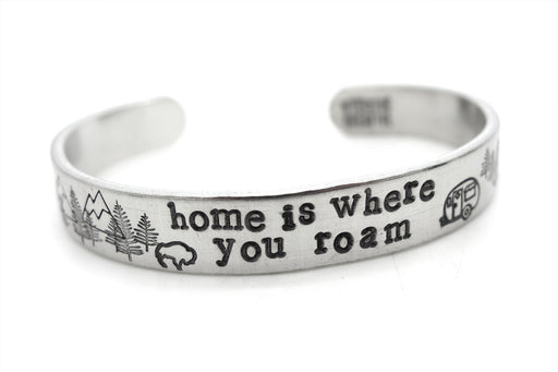 Home is Where you roam bracelet