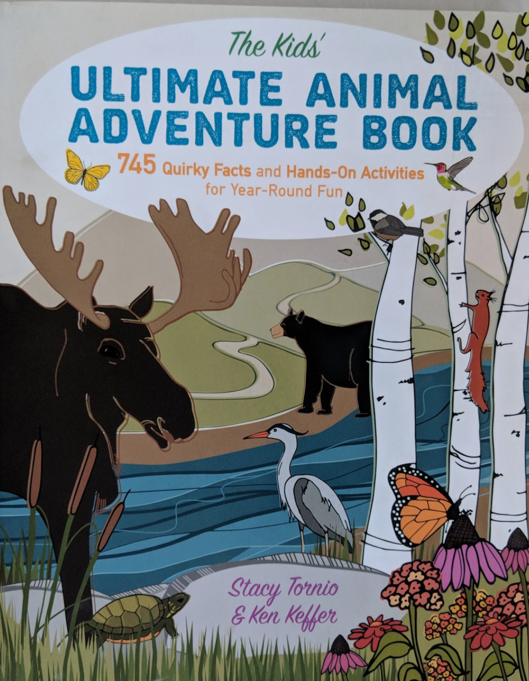 The Kid's Ultimate Animal Adventure Book