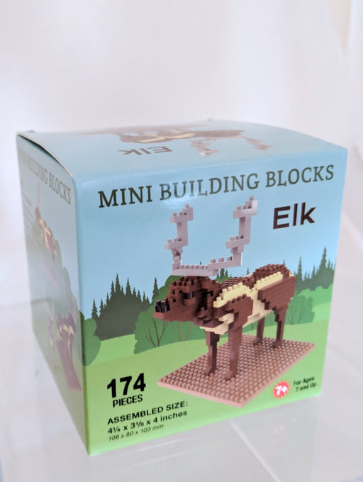 Mini Building Block Elk