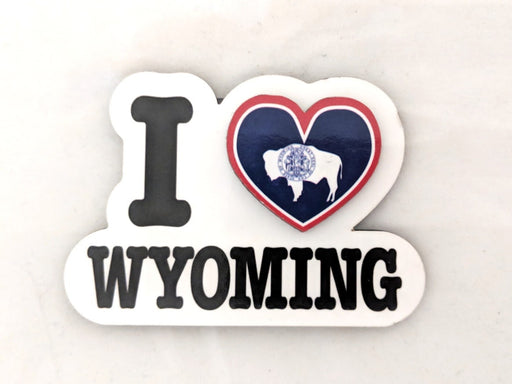 I Heart Wyoming Magnet
