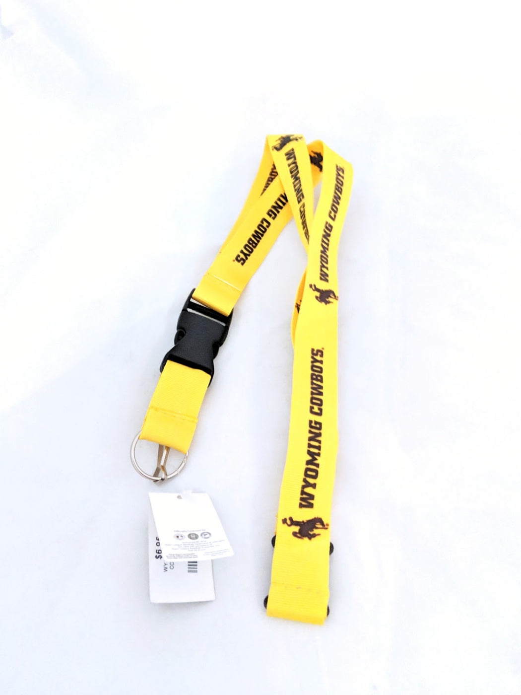 Wyoming Cowboys Lanyard
