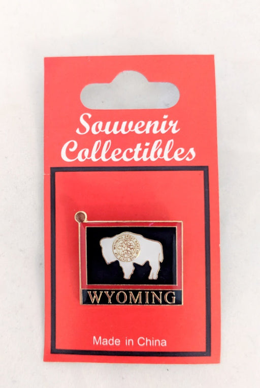 State of Wyoming lapel pin