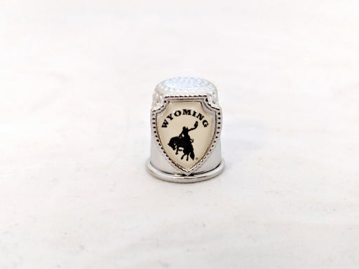 Wyoming Souvenir Thimble
