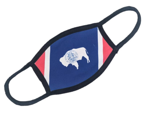 Wyoming State Flag Mask