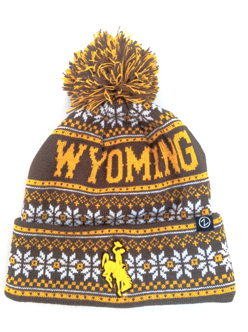 Wyoming Beanie, wyoming winter hat