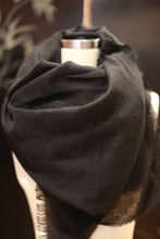 Load image into Gallery viewer, Tissue Weight Cashmere Scarf | Black