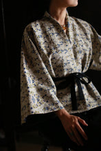 Load image into Gallery viewer, Lina Lapis Reversible Kimono Jacket