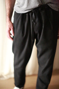 Cashmere Unisex Pants | Black