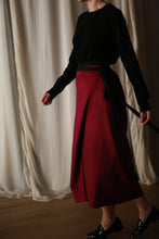 Load image into Gallery viewer, Cashmere Petal Skirt | Fuchsia