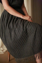 Load image into Gallery viewer, Men's Scarf Wrap Skirt | Charcoal