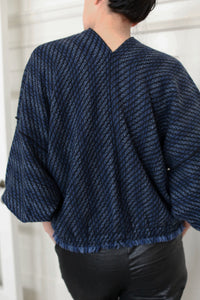 Cashmere House Cardi | Navy