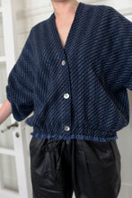 Load image into Gallery viewer, Cashmere House Cardi | Navy