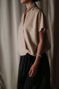 Kyoto Wrap Top | Ivory