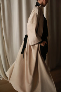 Farmoon Coat | Ivory