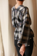 Load image into Gallery viewer, Cashmere House Blouse | Plaid