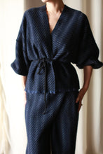 Load image into Gallery viewer, Cashmere House Blouse | Navy Twill