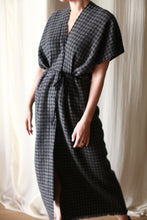 Load image into Gallery viewer, Cashmere House Dress | Houndstooth