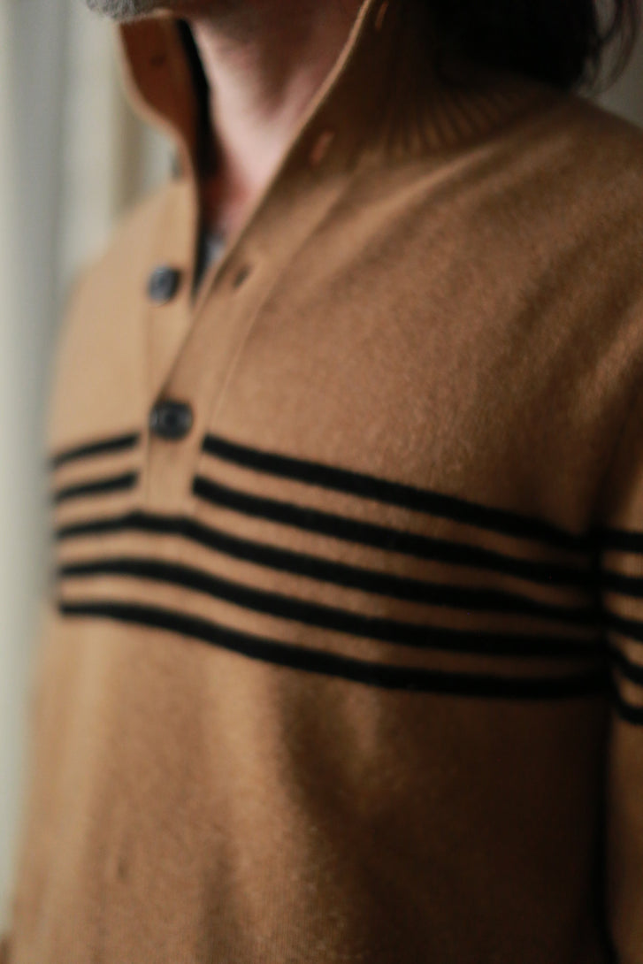Men's Striped Cashmere Sweater
