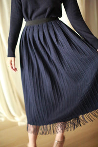 Men's Scarf Wrap Skirt | Navy
