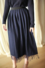 Load image into Gallery viewer, Men's Scarf Wrap Skirt | Navy