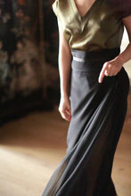 Load image into Gallery viewer, Obi Wrap Skirt
