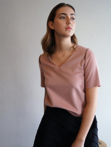 CASHMERE TEE