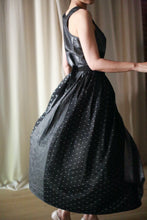 Load image into Gallery viewer, Polkadot Pleated Wrap Skirt