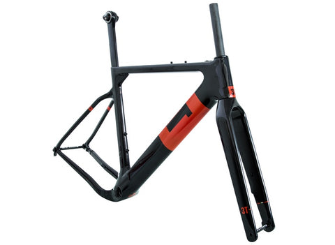 3T Exploro Team Frameset FM Black