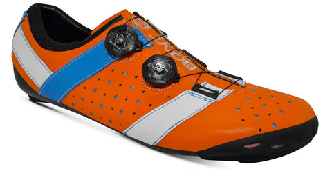 Bont Road Shoes Vaypor + Orange/Blue