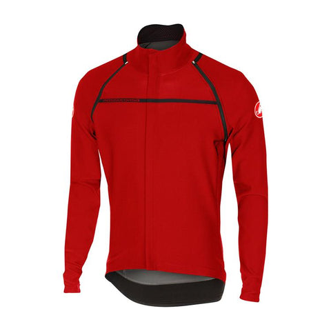 Castelli Perfetto Convertible Jacket Red