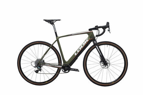 Look Bike 765 E Gravel Disc Force X1 Matte Green
