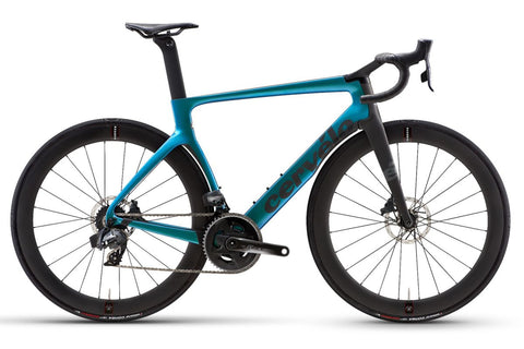 2021 Cervelo S5 Disc Force Etap AXS Blue Chameleon