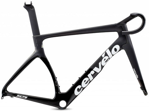 2020 Cervelo Frameset S5 Disc Black/Graphite/White