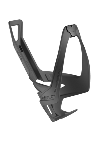 Elite Cannibal XC Bottle Cage Black Soft Touch