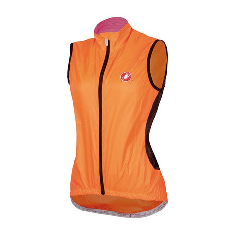 Castelli Velo Womens Vest Orange