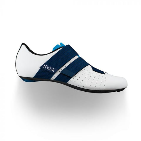 Fizik Vento R1 Powerstrap Movistar Shoes White/Blue