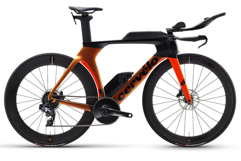 2021 Cervelo P5 Force Etap AXS Orange Chameleon