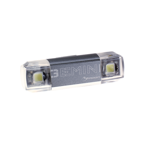 Moon Gemini Front 80 Lumens USB Cycling Light