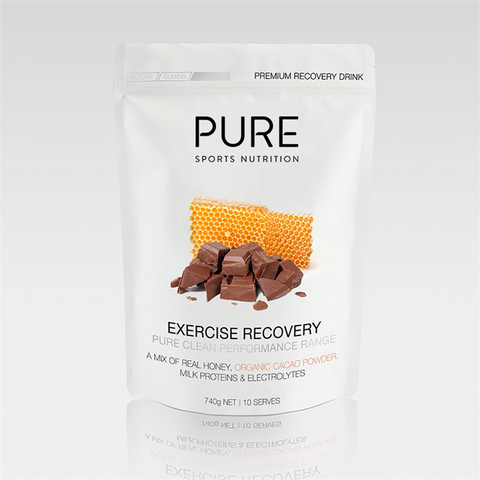 Pure Exercise Recovery 740g Organic Cacao & Honey