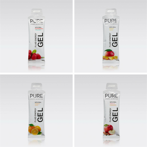 Pure Fluid Energy Gels 50g (BOX 18)
