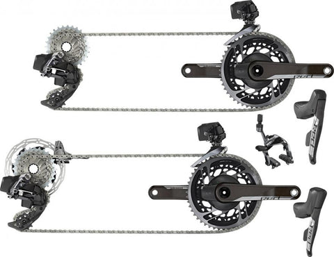 SRAM RED AXS eTap 2x Groupset Kits
