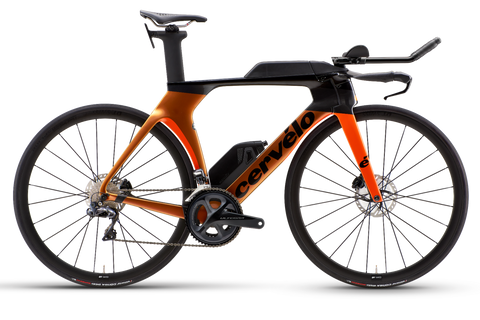 2021 Cervelo P5 Ultegra Di2 Disc Orange/ Chameleon