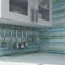 Coastal Colors - Hand Painted Glass Mosaic Tiles