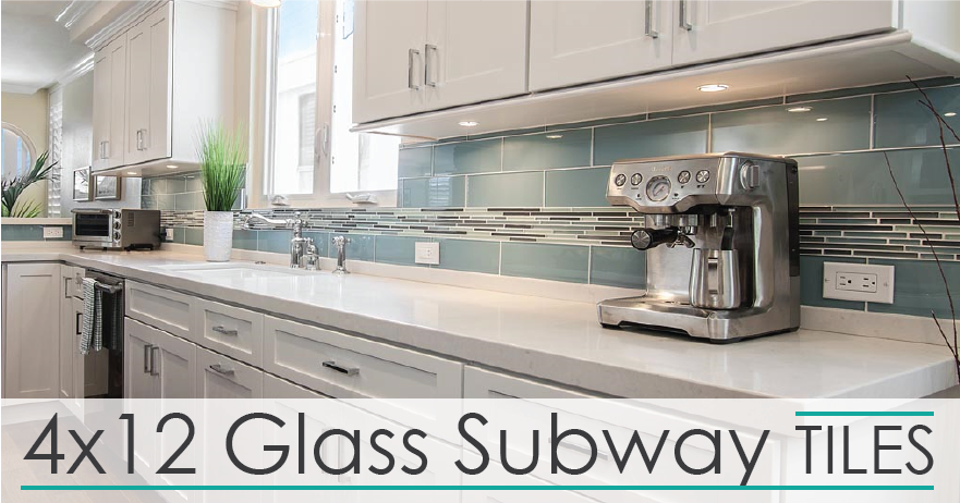 4x12 Glass Subway Tiles Rocky Point Tile Glass And