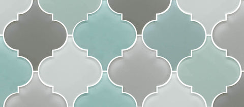 introducing our extensive collection of arabesque glass mosaic tiles we currently have 14 color options to choose from that include trendy blues grays