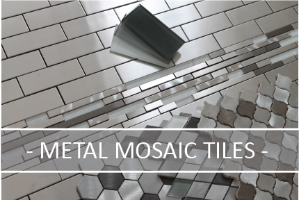 Metal and Aluminum Mosaic Tiles