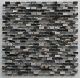 Dal Mare Birch Stone, Glass, and Shell Mosaic Tiles - Rocky Point Tile - Glass and Mosaic Tile Store